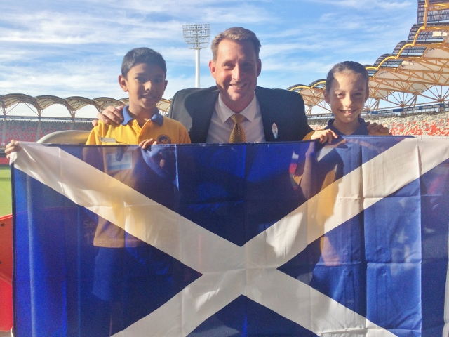 Schools connect with the 2018 Commonwealth Games