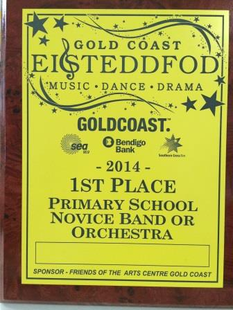 Eisteddfod win for our novice band