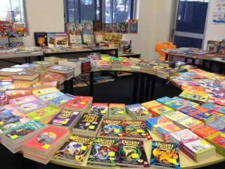 Our book fair is on now!!!